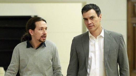 La presencia de Ciudadanos vuelve a bloquear el diálogo entre PSOE-Podemos