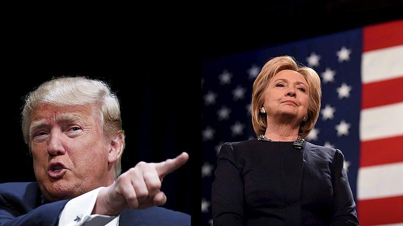 Trump sigue imponiéndose en las primarias republicanas a paso firme mientras que Clinton lo hace a duras penas