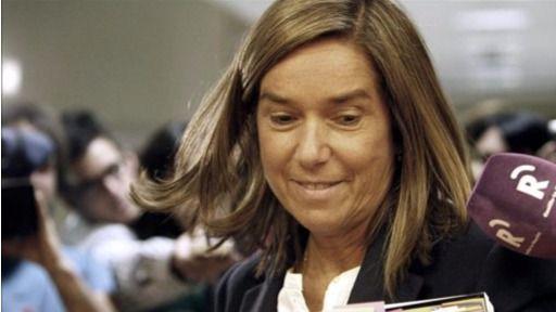 La ex ministra Ana Mato y otros 63 diputados cobrarán 2.813 euros al mes del 'paro' del Congreso