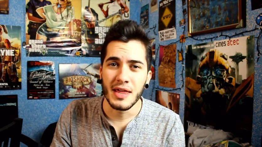 El 'youtuber' Wismichu durante uno de sus vídeos