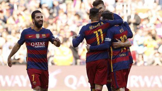 El Barça se regodea ante el Getafe con otra goleada (6-0)
