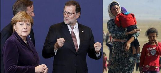"""Rajoy reprocha al líder del PSOE sus críticas al pacto de la UE sobre los refugiados y le pide sacarlo del """"debate partidista"""""""