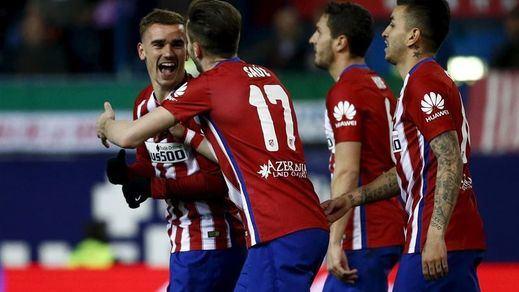 El Atlético estoquea fácilmente a un Depor muy manso (3-0)