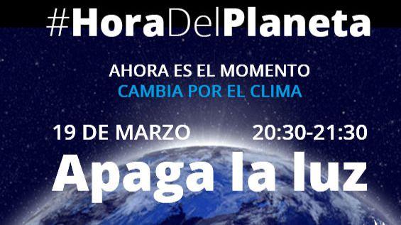 Una hora de apagón, el sábado entre 19,30 y 20,30, contra el cambio climático