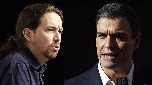 Fin de la guerra fría: Iglesias pide formalmente a Sánchez una reunión para formar gobierno
