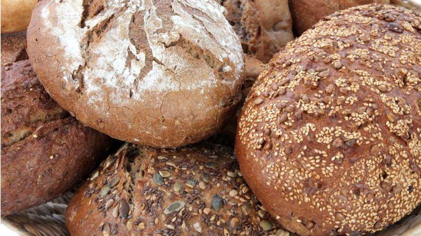 Distintas variedades de pan