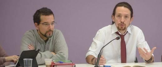 Podemos cesa a su secretario de organización, Sergio Pascual, tras las crisis territoriales