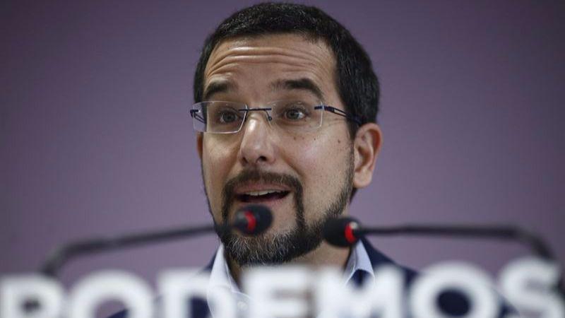 Sergio Pascual muere matando: recuerda que lleva dos años dejándose la piel en Podemos