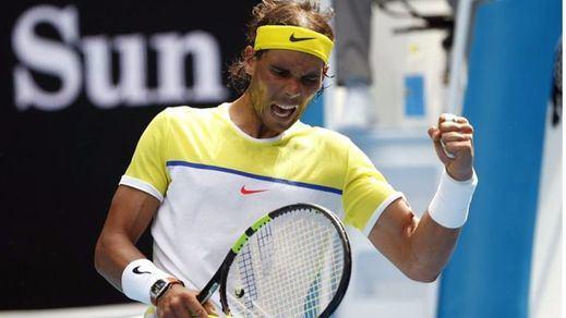 Nadal se venga de Verdasco y lo elimina en Indian Wells (6-0, 7-6)