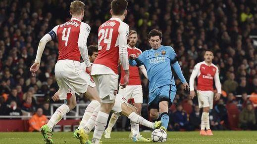 Champions: el Barça, sin confianzas ante el Arsenal pese al 0-2 de la ida