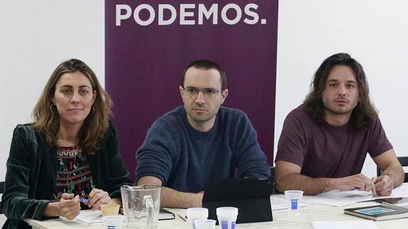 Luis Alegre durante la reunión del Consejo Ciudadano de Podemos Comunidad de Madrid