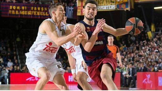 Euroliga: el Barça remonta a tiempo y mete al Madrid en problemas (72-65)