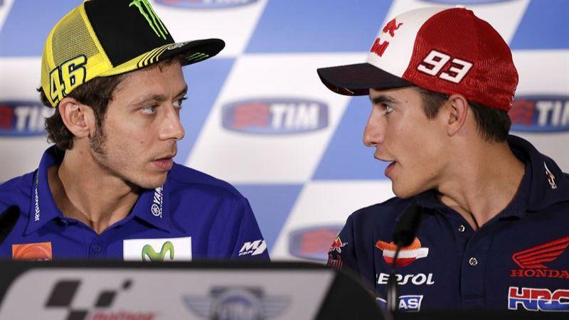 Moto GP 2016: el morbo 'mundial' está servido con el duelo deportivo y personal entre Rossi y Márquez