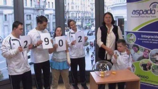 El número ganador del sorteo solidario de ASPADO es el 2902