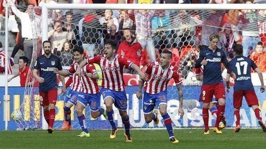 Los 'yogurines' se meriendan a un Atlético cansado y vulgar (2-1)