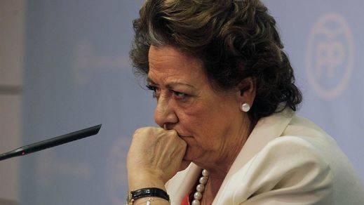 Rita Barberá bombardea a dirigentes del PP con mensajes