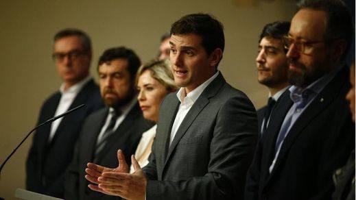 Ciudadanos volverá a pedir una mesa conjunta con PP y PSOE ante la