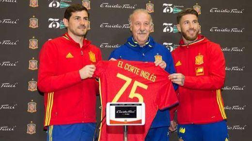 La marca Emidio Tucci de El Corte Inglés vestirá a la selección Española de Fútbol