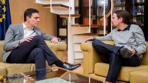 Pedro Sánchez y Pablo Iglesias aplazan su reunión al no poder coordinar las agendas