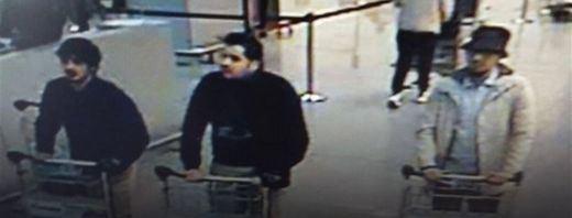 Los hermanos El Bakraui, que se inmolaron en el aeropuerto de Bruselas, estaban fichados pero no por terrorismo