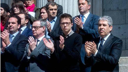 Íñigo Errejón reaparece en el Congreso tras una semana de ausencia mediática