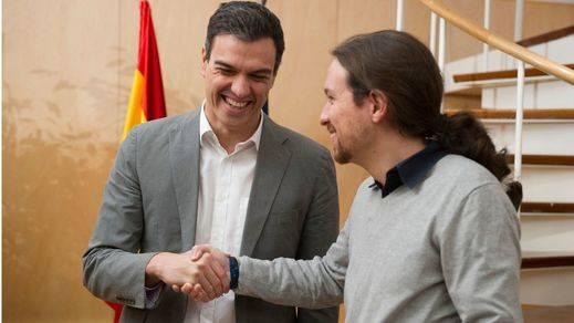 Pedro Sánchez y Pablo Iglesias acuerdan reunirse el 30 de marzo para reanudar las negociaciones