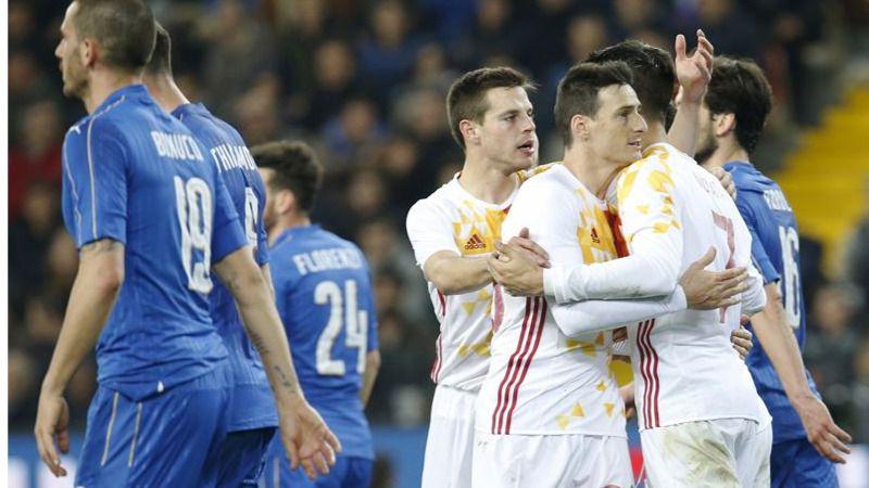 'Matador' Aduriz y 'Parador' De Gea salvan a una pésima España ante una Italia muy superior (1-1)