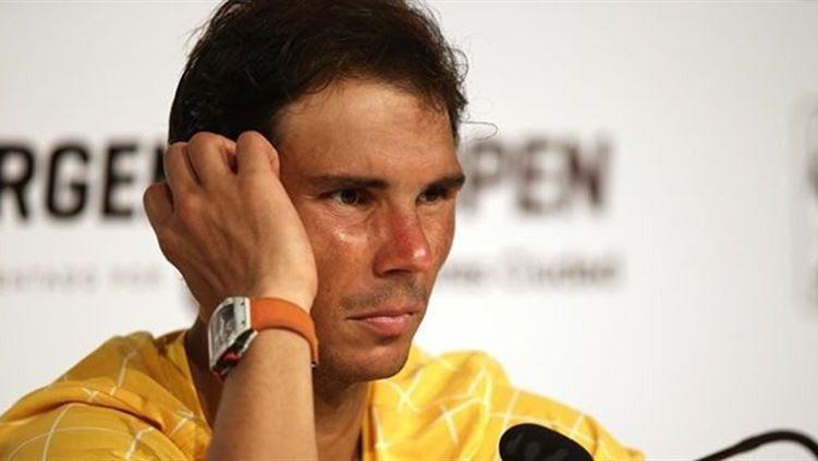Nadal explica su retirada del Masters de Miami 'preocupado por su salud'