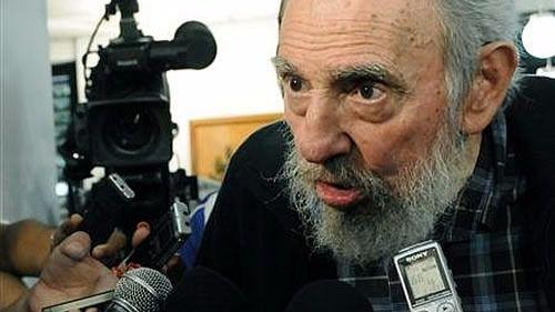 Fidel responde con firmeza al