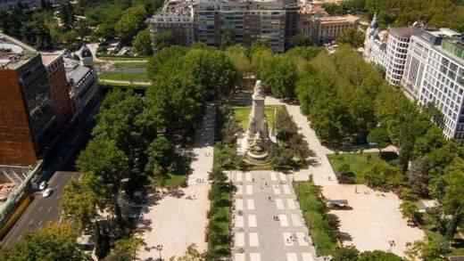 Así sería la nueva Plaza de España de Madrid diseñada por los ciudadanos