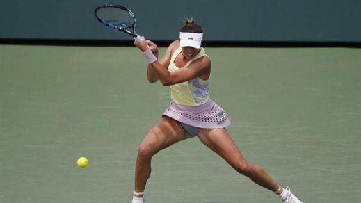 La irregular Muguruza da la de arena en el Masters de Miami: eliminada por Azarenka