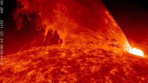 El Sol podría llegar a lanzar una llamarada devastadora a la Tierra