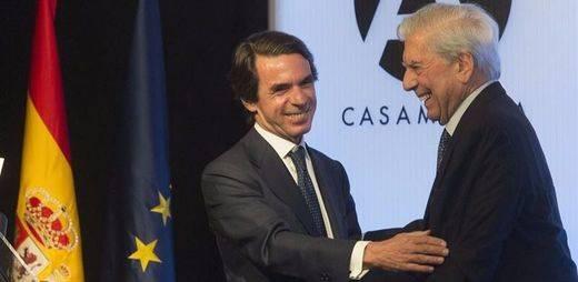 Aznar vuelve a menospreciar a Rajoy en su cara: exige