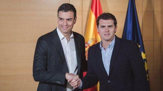 Ciudadanos logra atar su acuerdo con el PSOE antes de la reunión entre Sánchez e Iglesias