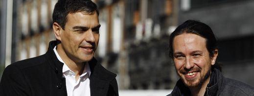 No habrá acuerdo, a priori, Sánchez-Iglesias: el socialista le pide formar tripartito con Ciudadanos, a lo que Podemos se niega