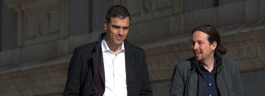 >> Iglesias deja sin excusas a Sánchez