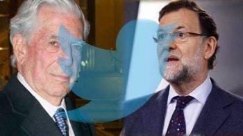 Rajoy 'nacionalizó' el Premio Nobel de Vargas Llosa