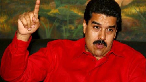 Maduro, a Rajoy: