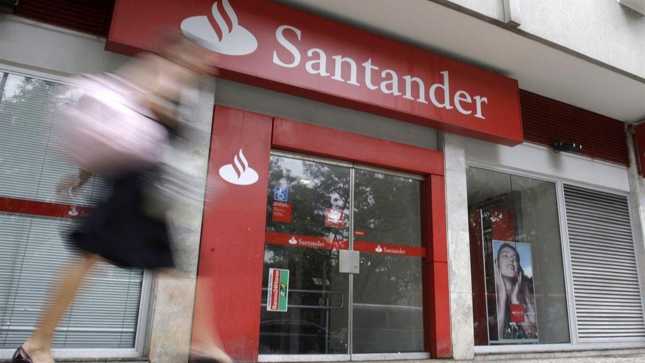 El Santander cerrará sus oficinas más pequeñas en todo el territorio nacional