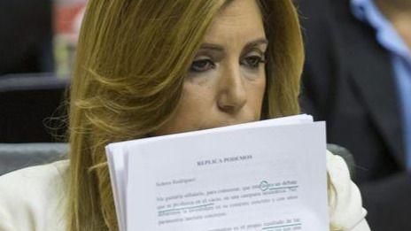 La hemeroteca 'golpea' a Susana Díaz, de cuando hacía botellón...