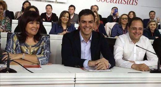 El Comité Federal de PSOE aplazará hoy la fecha del Congreso que Ferraz quiere dejar abierta