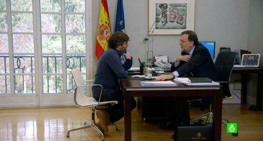 Rajoy, 'salvado' por Jordi Évole: