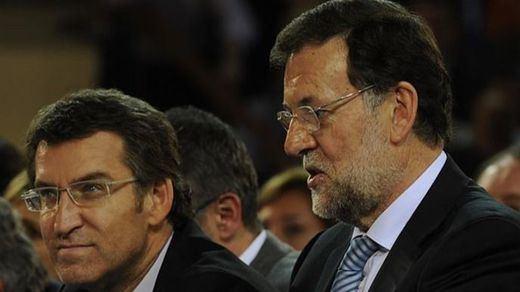 Feijóo no se borra para nada de la carrera sucesoria de Rajoy