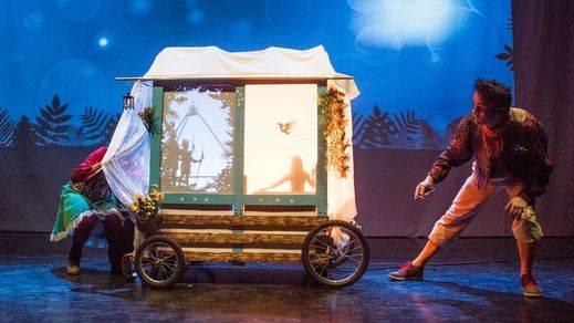 'La aventura en el desierto', un atractivo montaje teatral cocido a fuego lento