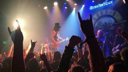 Así suenan los Guns n' Roses con Axl y Slash tocando juntos después de 23 años