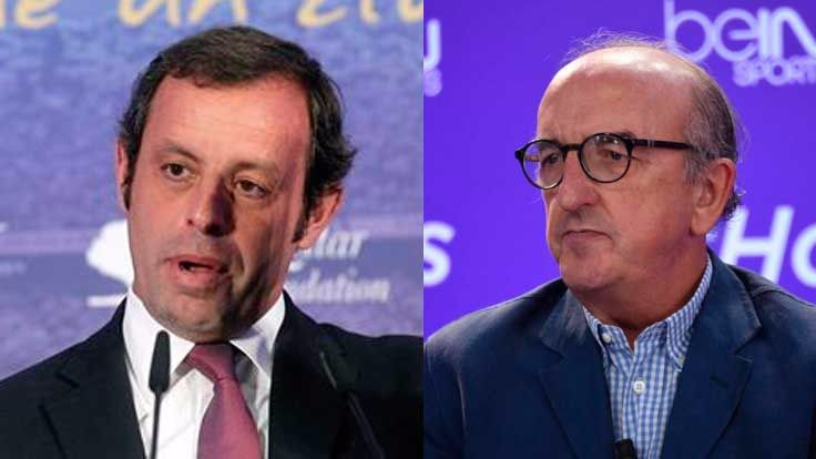 Sandro Rosell y Jaume Roures