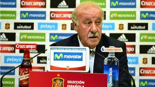 Del Bosque receta una de ánimos para la Eurocopa: