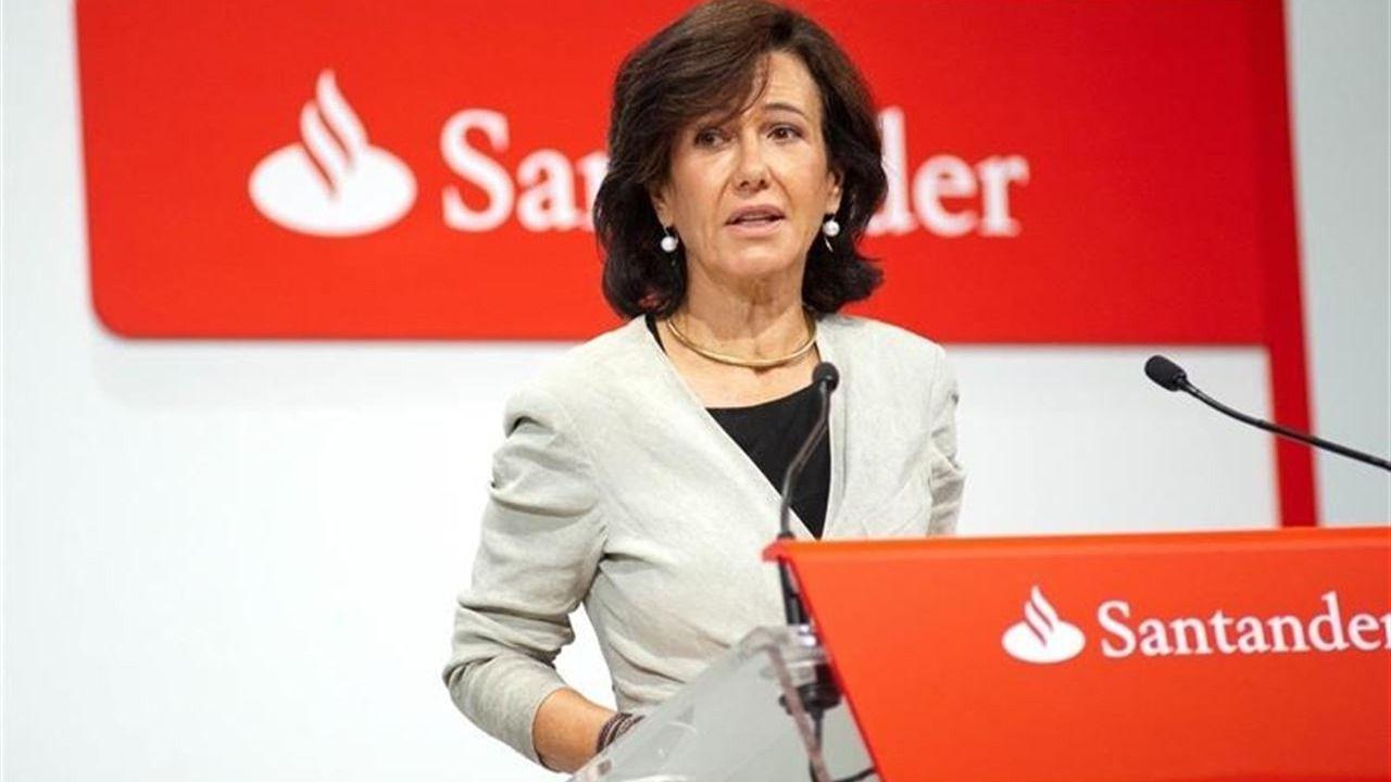 Banco Santander plantea un ajuste máximo de un 5% de su plantilla
