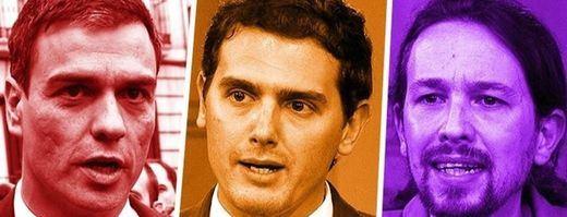 Sánchez, a elegir definitivamente entre Albert Rivera y Pablo Iglesias en una reunión al límite