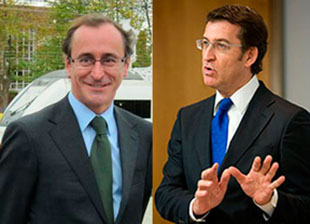 Alonso, más diplomático que Soria, cede protagonismo a Feijóo